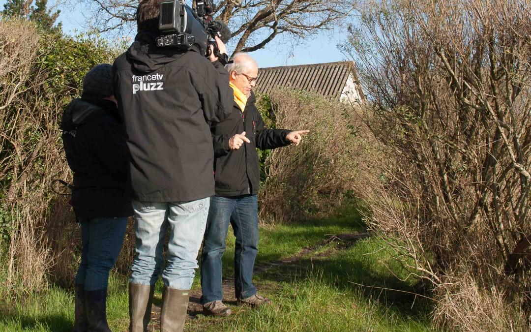 Les amis des sites sur France 3 Bretagne et Pays de la Loire à la radio et dans la presse locale.